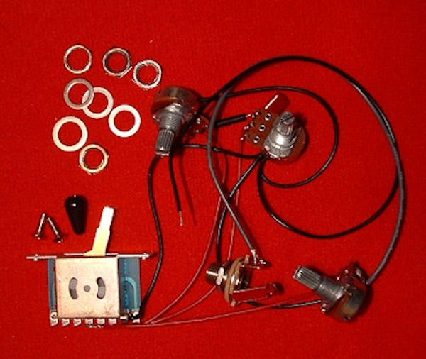 wiring harness kit strat style. Black Bedroom Furniture Sets. Home Design Ideas