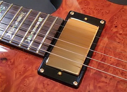 pickup cover humbucker no holes chrome black gold. Black Bedroom Furniture Sets. Home Design Ideas